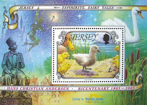 Jersey 2005 The 200th Anniversary of the Birth of Hans Christian Andersen h
