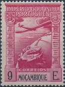 Mozambique 1938 Portuguese Colonial Empire (Airmail Stamps) h