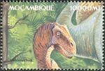 Mozambique 2002 Dinosaurs l