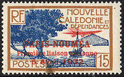 New Caledonia 1933 Definitives of 1928 Overprinted f