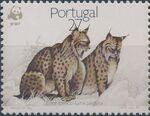 Portugal 1988 WWF Iberian Lynx (Lynx pardina) c