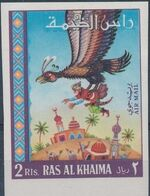 "Ras al-Khaimah 1967 Fairy Tales from ""Thousand and One Nights"" i"