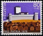 Switzerland 1976 PRO PATRIA - Castles d