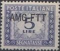 Trieste-Zone A 1949 Postage Due Stamps of Italy 1947-1954 Overprinted c.jpg