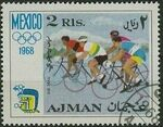 Ajman 1968 Olympic Games - Mexico g