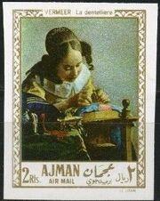 Ajman 1968 Paintings o