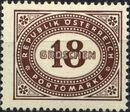 Austria 1947 Postage Due Stamps - Type 1894-1895 with 'Republik Osterreich' k