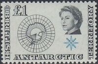 British Antarctic Territory 1963 Definitives o
