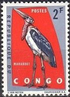 Congo, Democratic Republic of 1963 Protected Birds (1st Group) b