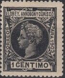 Elobey, Annobon and Corisco 1903 King Alfonso XIII c