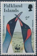 Falkland Islands 1991 WWF - King Penguin a
