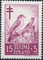 Finland 1952 Fight against Tuberculosis b