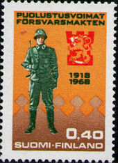 Finland 1968 50th Anniversary of the Finnish Army c