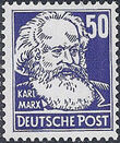 Germany DDR 1952 Famous People k