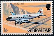 Gibraltar 1982 Airplanes a