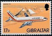 Gibraltar 1982 Airplanes i