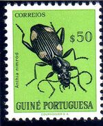 Guinea, Portuguese 1953 Guinea Insects d