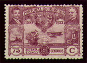 Portugal 1923 First flight Lisbon Brazil m