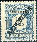 St Thomas and Prince 1913 Postage Due Stamps - 2nd Overprint h