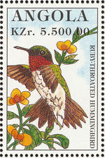 Angola 1996 Hummingbirds l