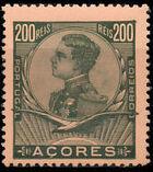 Azores 1910 D. Manuel II k
