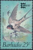 Barbados 1987 CAPEX'87 - Birds a