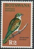 Botswana 1967 Birds n