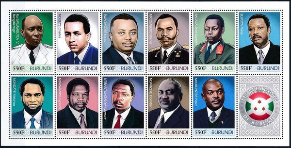 Burundi 2012 Presidents of Burundi m