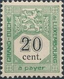 Luxembourg 1907 Postage Due Stamps d