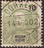 Mozambique 1898 D. Carlos I c