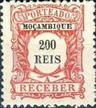 Mozambique 1904 Postage Due Stamps i