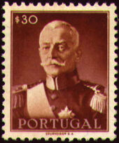 Portugal 1945 President Carmona b