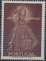 Portugal 1958 Queen St. Isabella and St. Theotonius d