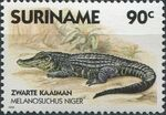 Surinam 1988 Alligators and Crocodiles c