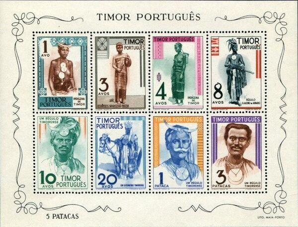 Timor 1948 Native People SSa