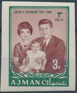 Ajman 1964 President Kennedy n