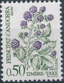Andorra-French 1985 Flowers (Postage Due Stamps) e.jpg