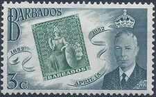Barbados 1952 Centenary of Barbados Postage Stamps a