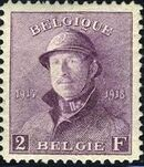 Belgium 1919 King Albert in Trench Helmet l