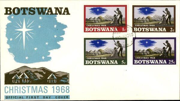 Botswana 1968 Christmas x