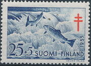 Finland 1955 Fight against Tuberculosis c