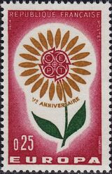 France 1964 Europa a
