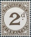 Gibraltar 1956 Postage Due Stamps b