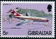 Gibraltar 1982 Airplanes e