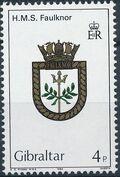 Gibraltar 1983 Royal Navy Crests 2nd Group a