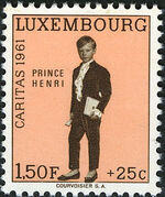 Luxembourg 1961 Prince Henri c