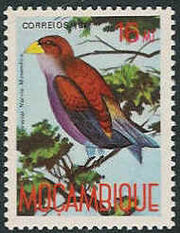 Mozambique 1987 Birds of Moçambique (Third Issue) e