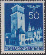 Poland-General Government 1940 Buildings (1st Group) i