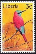 Liberia 1997 Birds c