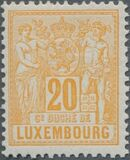 Luxembourg 1882 Industry and Commerce g